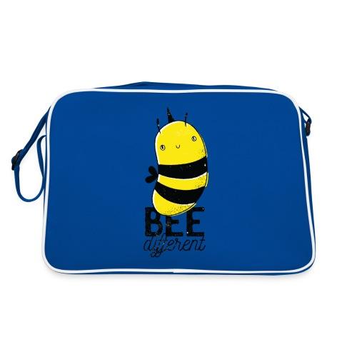 Bee different Biene mit Stachel - Retro Tasche