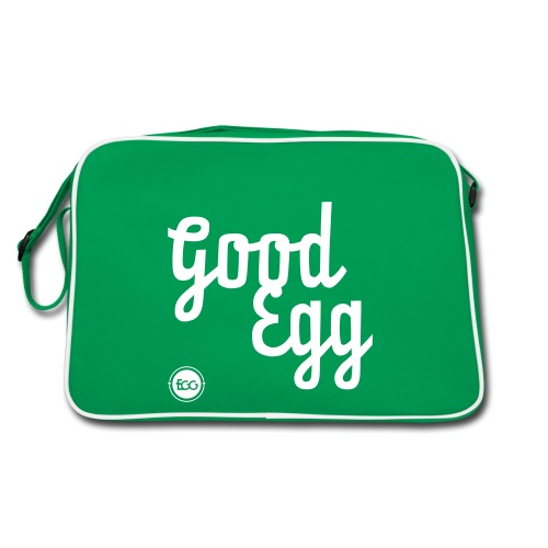 'Good Egg' - Retro Bag