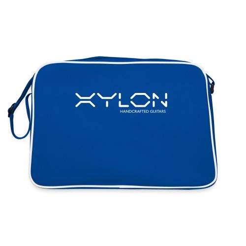 Xylon Handcrafted Guitars (name only logo white) - Retro Bag