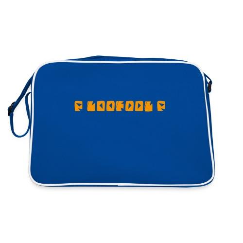 P loofool P - Orange logo - Retro veske