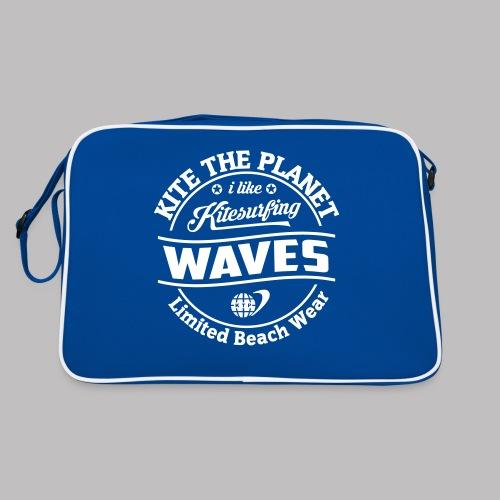 waves water ktp - Retro Tasche
