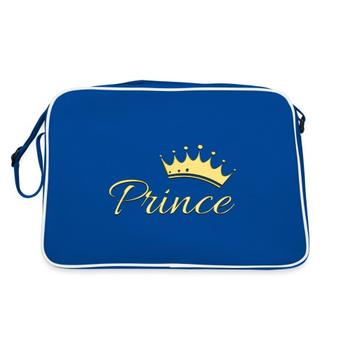 Prince Or -by- T-shirt chic et choc - Sac Retro