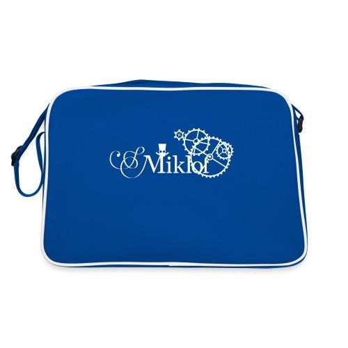 miklof logo white 3000px - Retro Bag