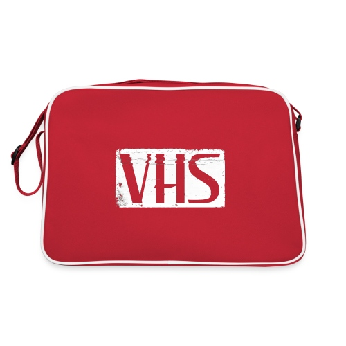 VHS WHITE LABEL - Retrolaukku