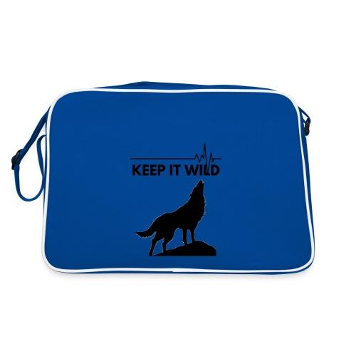 Keep it wild - Retro Tasche