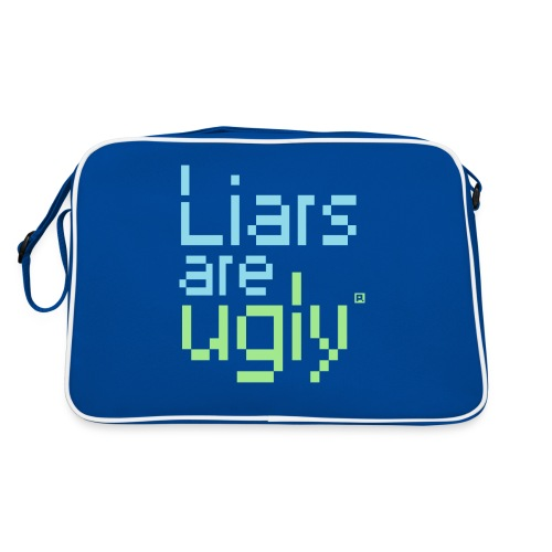Liars Are Ugly - Retro-tas