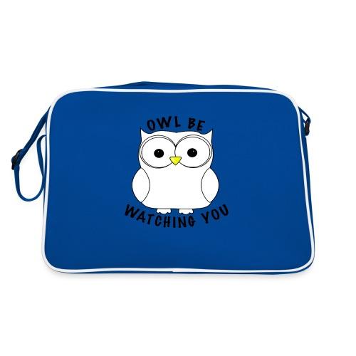 OWL BE WATCHING YOU - Retro Bag