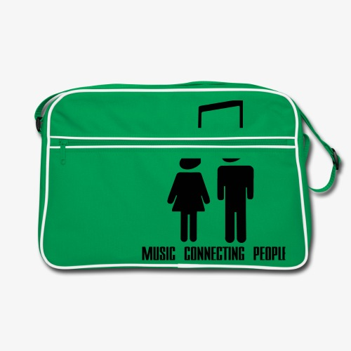 Music Connecting People - Retro Tasche