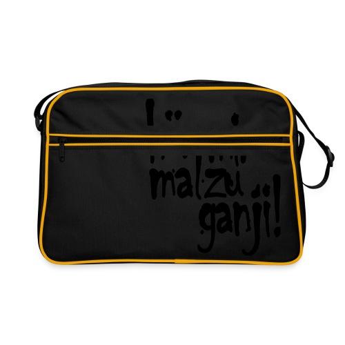 Ganji 2.0 / Der Kultspruch für deine Tasse & mehr - Retro Tasche