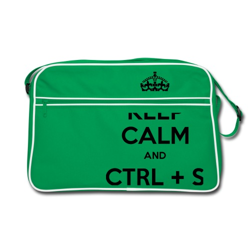 Keep Calm and CTRL+S - Sac Retro