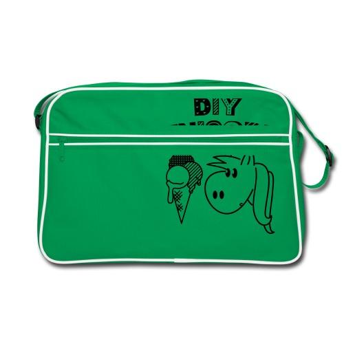 DIY Unicorn Einhorn - Retro Tasche