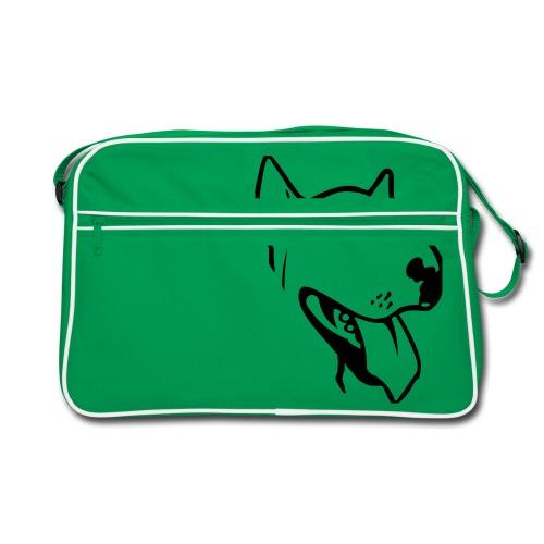 bull terrier2 - Retro Bag