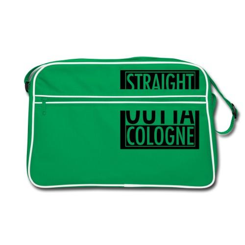 Straight Outta Cologne - Retro Tasche