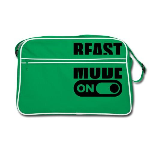 BEAST MODE ON - Retro Bag