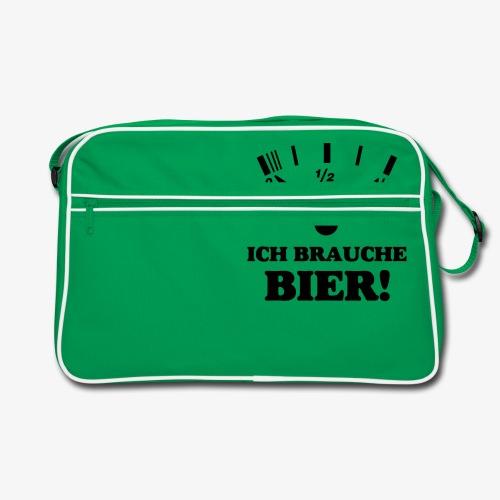Bier Tankanzeige - Retro Tasche