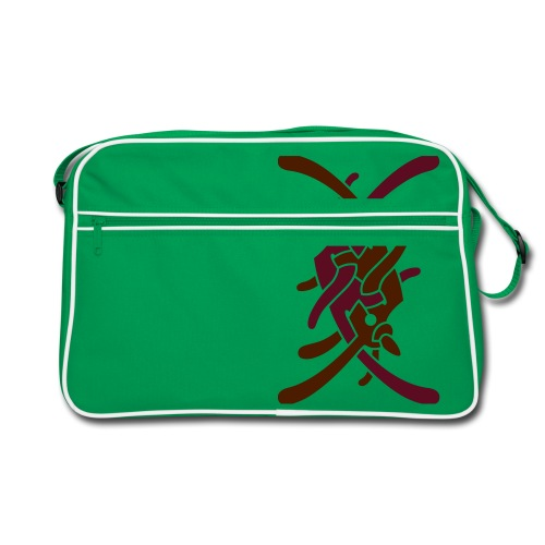 Stort logo på bryst - Retro taske