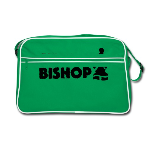 Silent Bishop Logo Groot - Retro-tas
