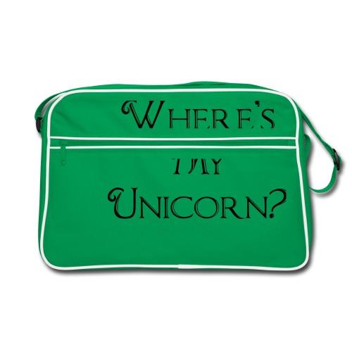 Where's My Unicorn - Retro Bag