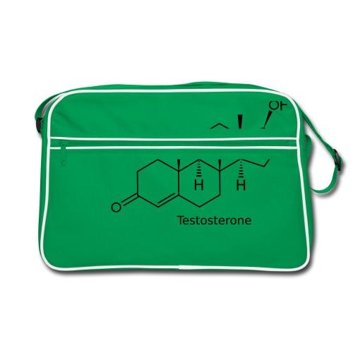 Testosterone - Bodybuilding, Crossfit, Fitness - Retro Tasche