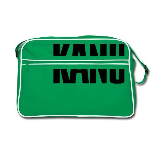 Kanu Kanute Wassersport Paddel 1c - Retro Tasche