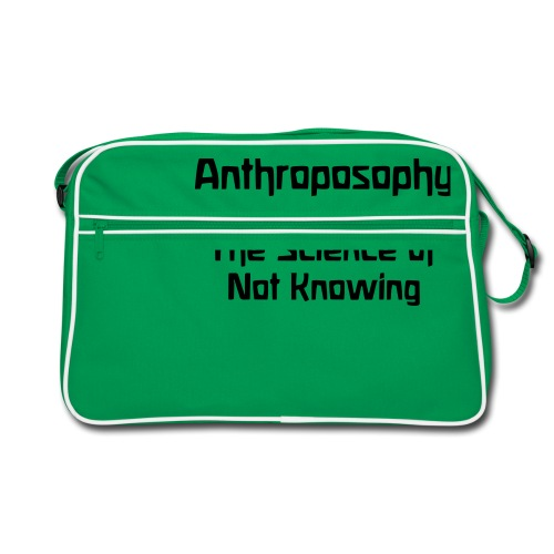 Anthroposophy The Science of Not Knowing - Retro Tasche