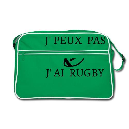 J'peux pas J'ai rugby - Sac Retro