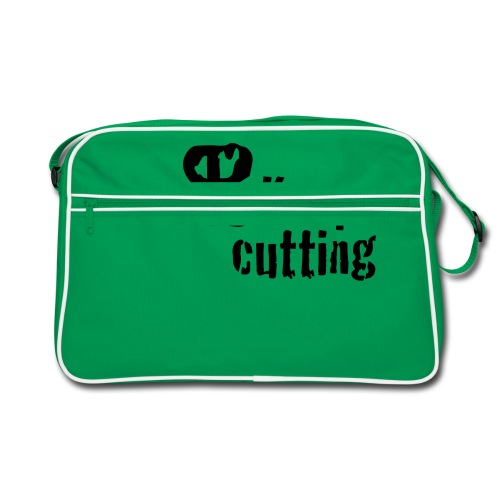 keep on cutting 1 - Retro Tasche