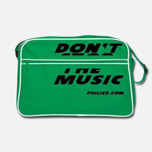 dontstopthemusic - Retro Bag