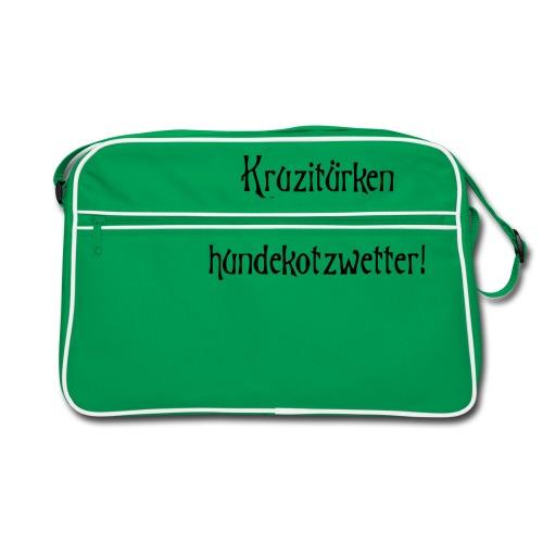 hundekotzwetter - Retro Tasche