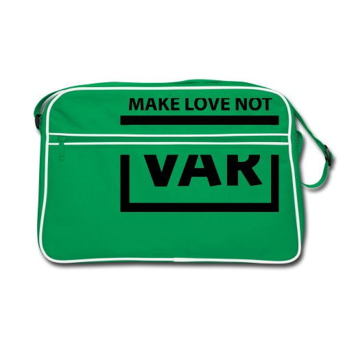 Make Love Not Var - Retro-tas