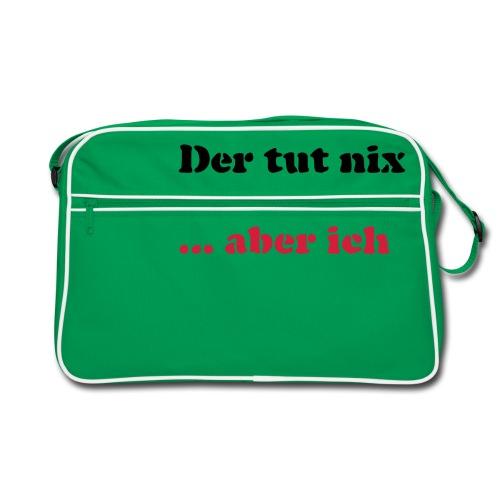 Der tut nix/was - Retro Tasche
