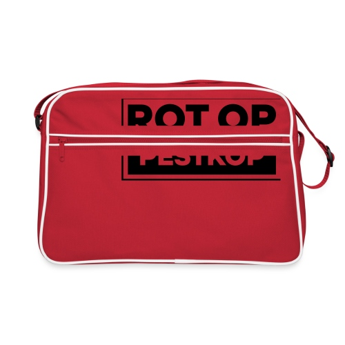 Rot Op Pestkop - Block Black - Retro-tas