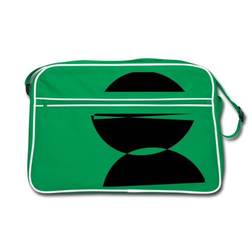refugee rights abstract - Retro Tasche