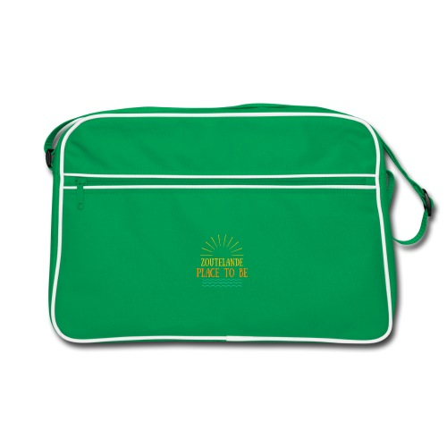 Zoutelande - Place To Be - Retro Tasche