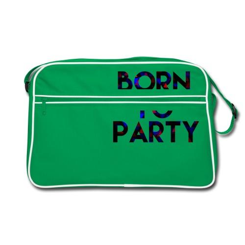 Born to Party - Retro Bag