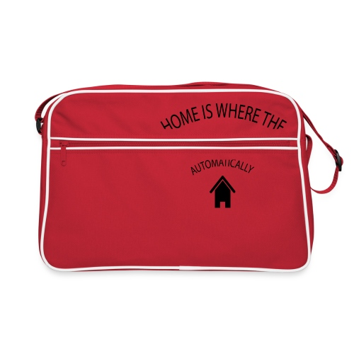 Home is where the Wifi connects automatically - Retro Bag