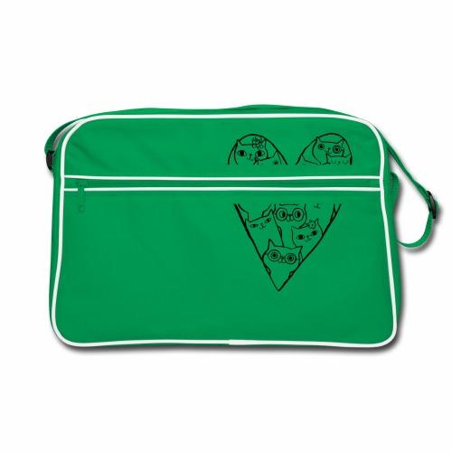 I Love Cats - Retro Bag