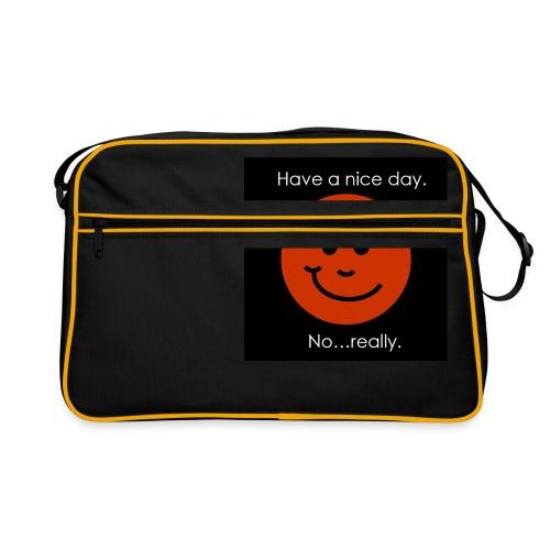 Have a nice day - Retro taske