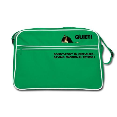 QUIET Sonny Pony in deep sleep - Retro Tasche