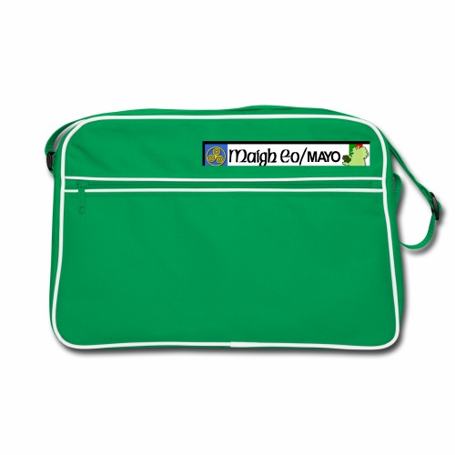 CO. MAYO, IRELAND: licence plate tag style decal - Retro Bag