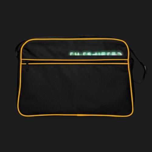 TiltShifted Logo on Black - Retrolaukku