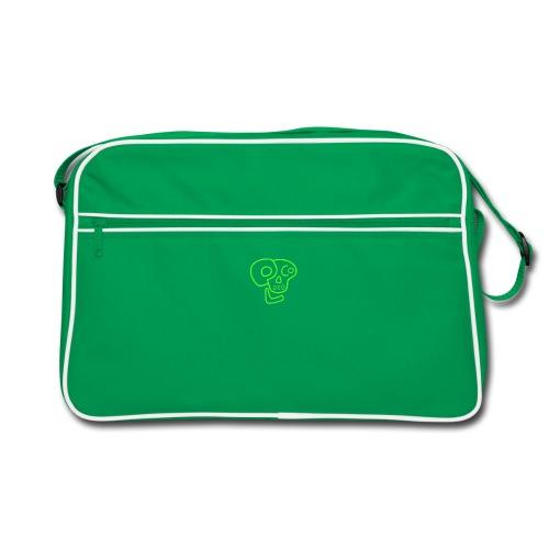 poco loco logo green - Retro Bag
