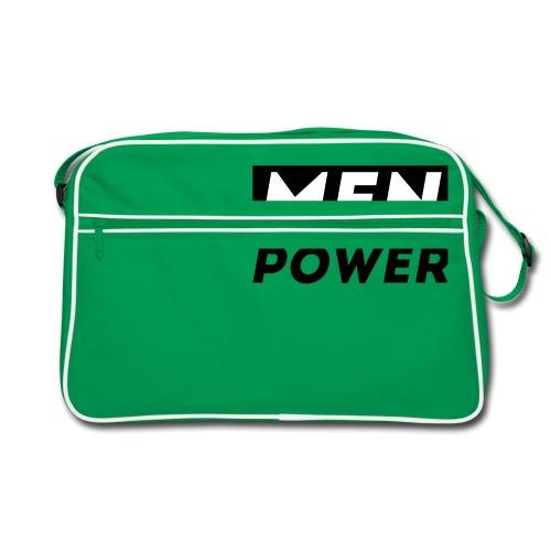 MEN POWER - Retro Tasche