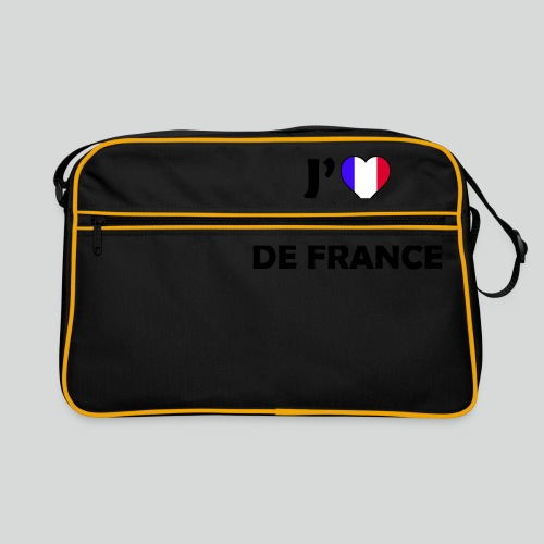 J'aime L'équipe De France (N) - Sac Retro