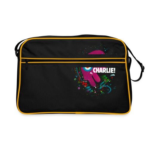 Toujours Charlie interprété par l'artiste C215 - Sac Retro