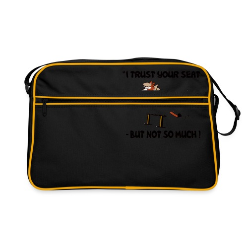 I trust your but not soo much - Retro Tasche