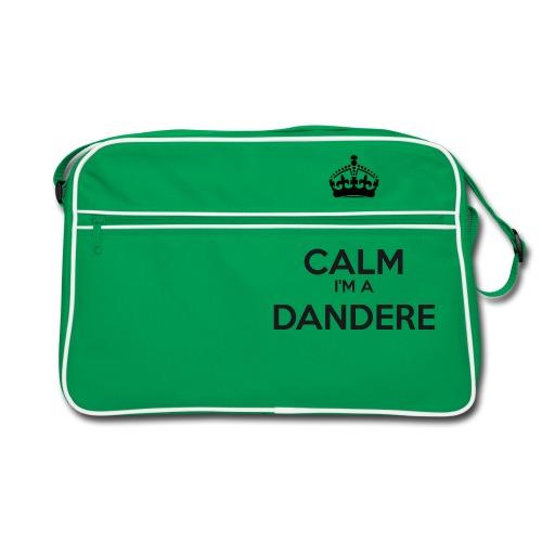 Dandere keep calm - Retro Bag