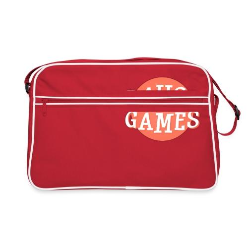 Pause Games Logo - Retro Bag