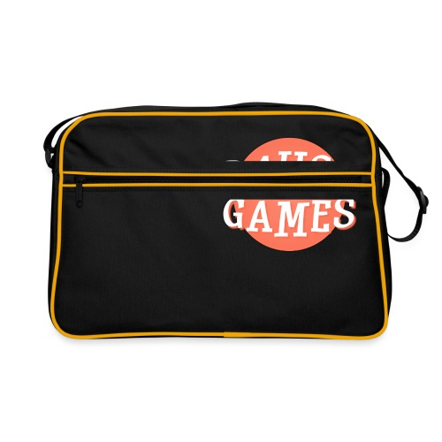 Pause Games Logo - Retro Bag