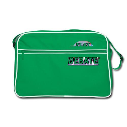 Flat Earth Debate - Retro Bag